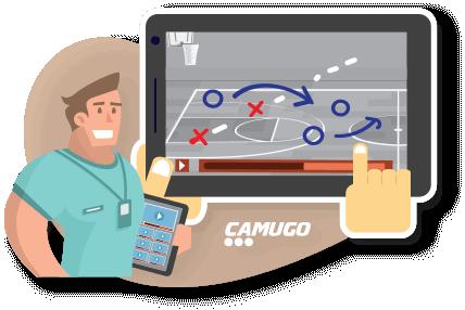 Visual illustration on site